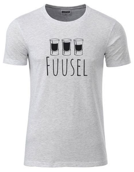 Fuusel | T-Shirt JUNGE | ASH HEATHER (hellgrau)