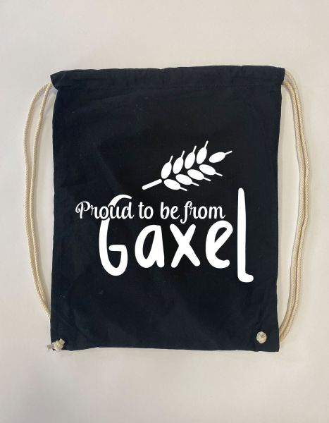 Proud to be from Gaxel | Baumwoll Rucksack | Sportsack
